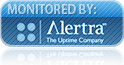 24/7 up time monitoring by Alertra